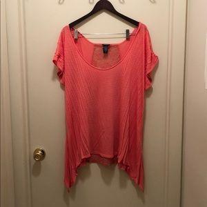 Corral shear blouse